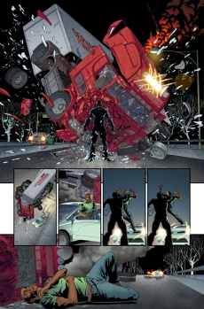 Spider-Man 2099 #1 Preview 1 Art by Will Sliney