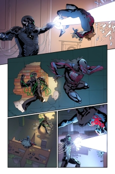 Spider-Man 2099 #1 Preview 3 Art by Will Sliney