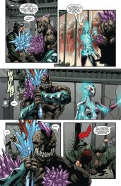 Unity #8 (Armor Hunters) Preview 3 Art by Stephen Segovia