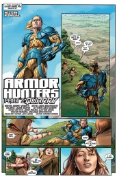 Armor Hunters #1 Preview 2 Art by Doug Braithwaite