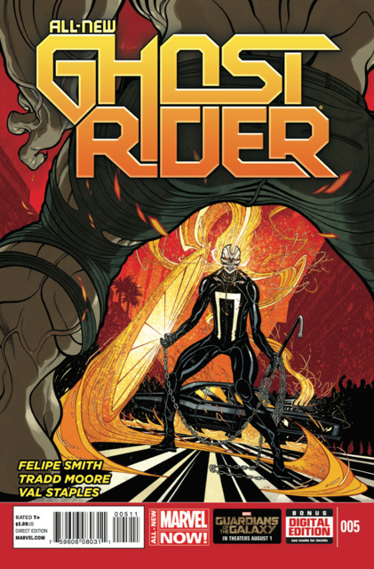 new ghost rider comic review