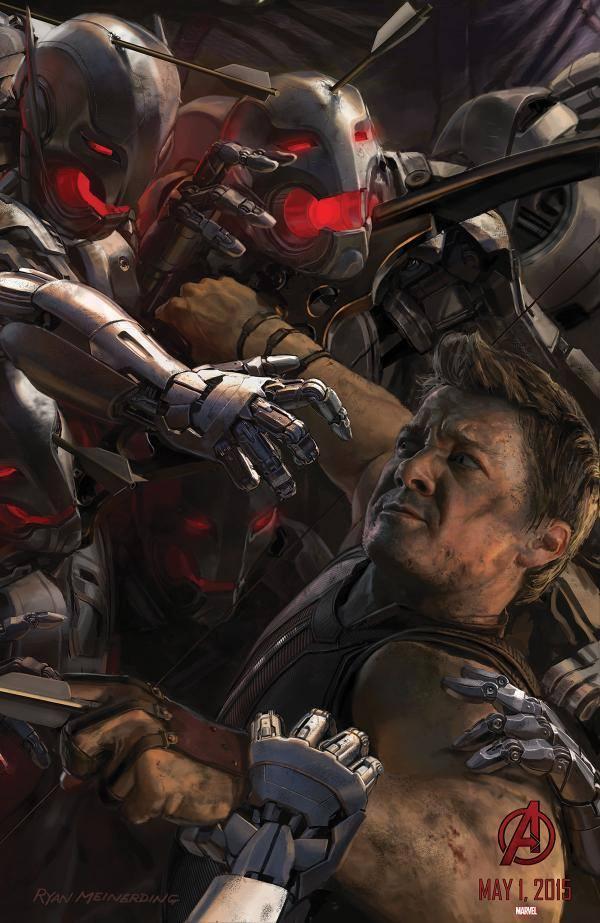 Avengers 2 Hawkeye Poster