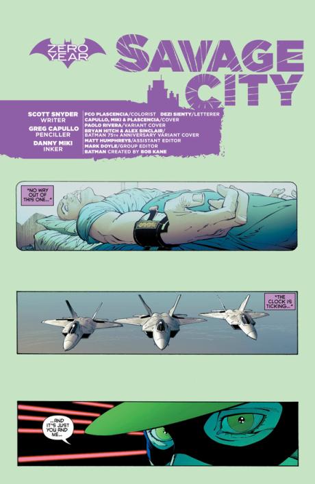 Batman #33 Preview 1