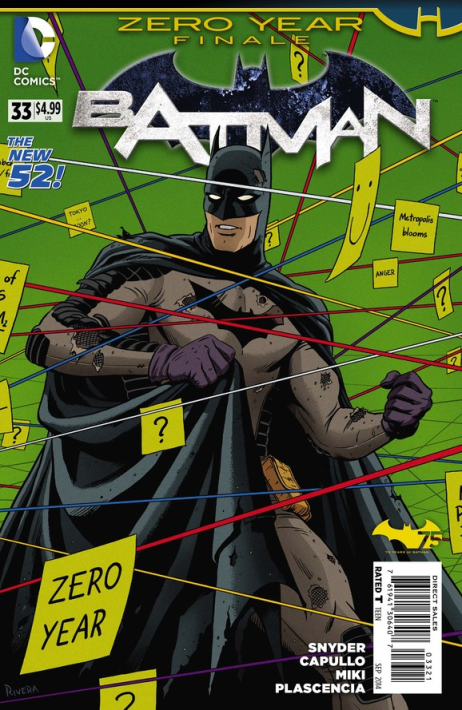 Batman #33 Variant Cover