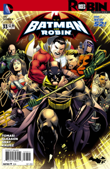 Batman and Robin #33 Cover