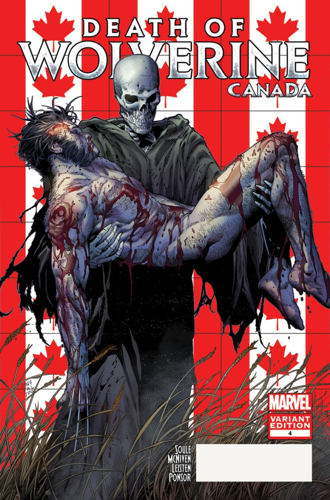 Death_of_Wolverine 4_Canada Variant