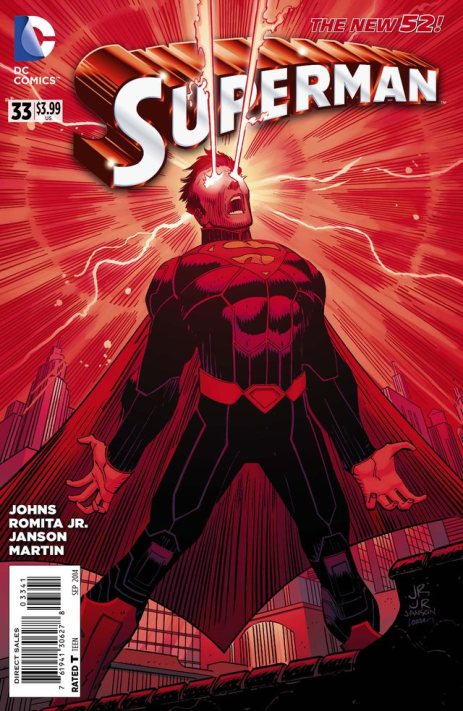 Superman #33 Variant Cover 3