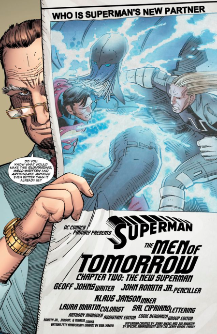 Superman #33 Variant Preview 1