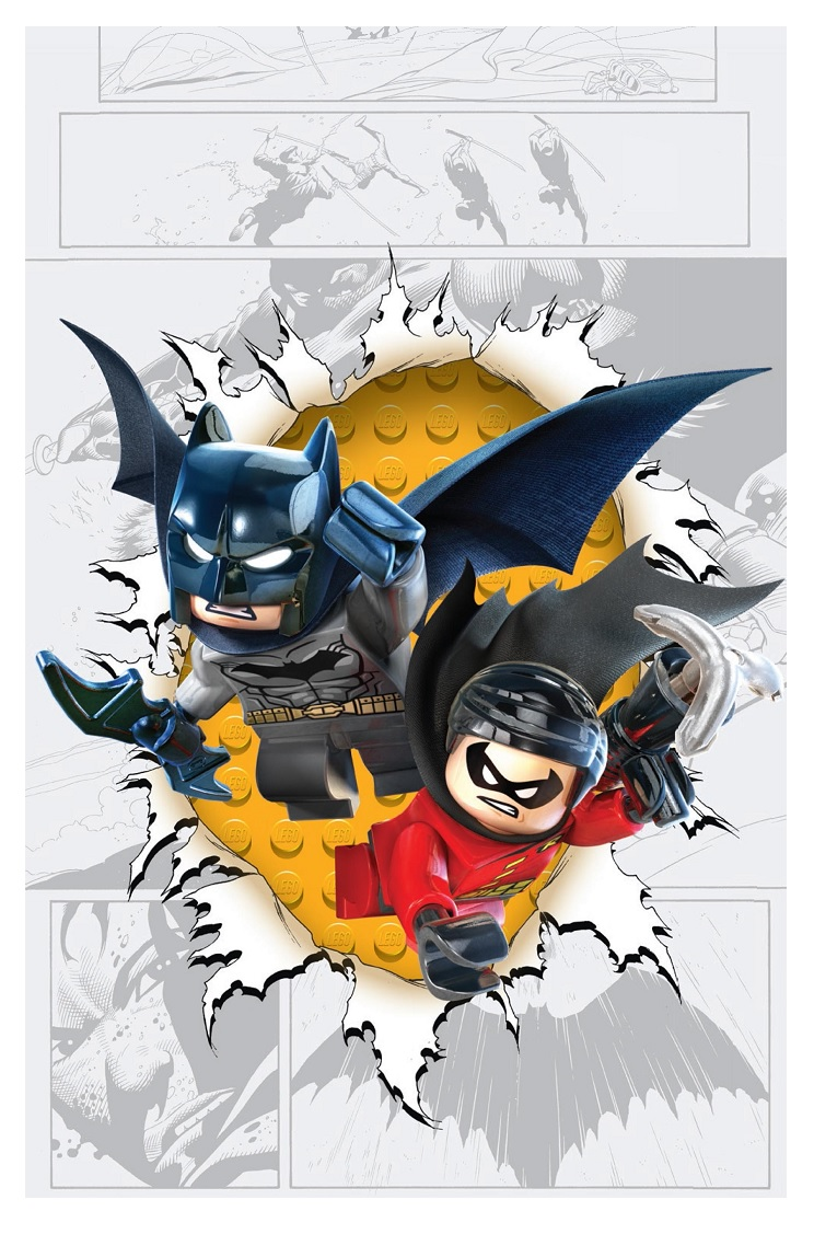 DC Comics Reveals Variant Lego Cover Themes for November ...