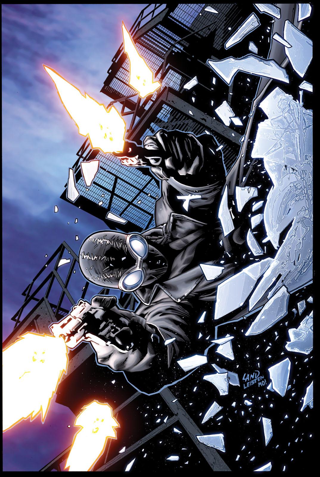 the return of spider man noir your first look at edge of spider verse 1 comicsrefueled. Black Bedroom Furniture Sets. Home Design Ideas