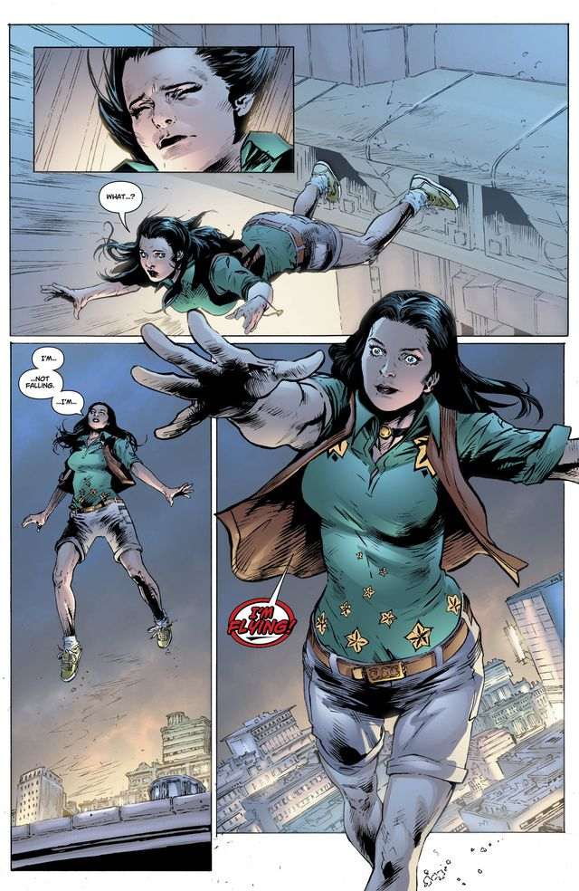Will Donna Troy make her New 52 Debut Today? | ComicsRefueled