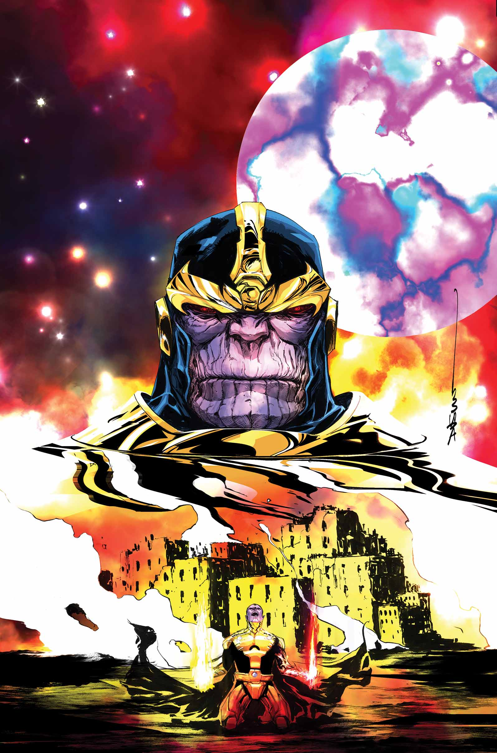 Sins Of The Father Revealed Your First Look At Thanos A